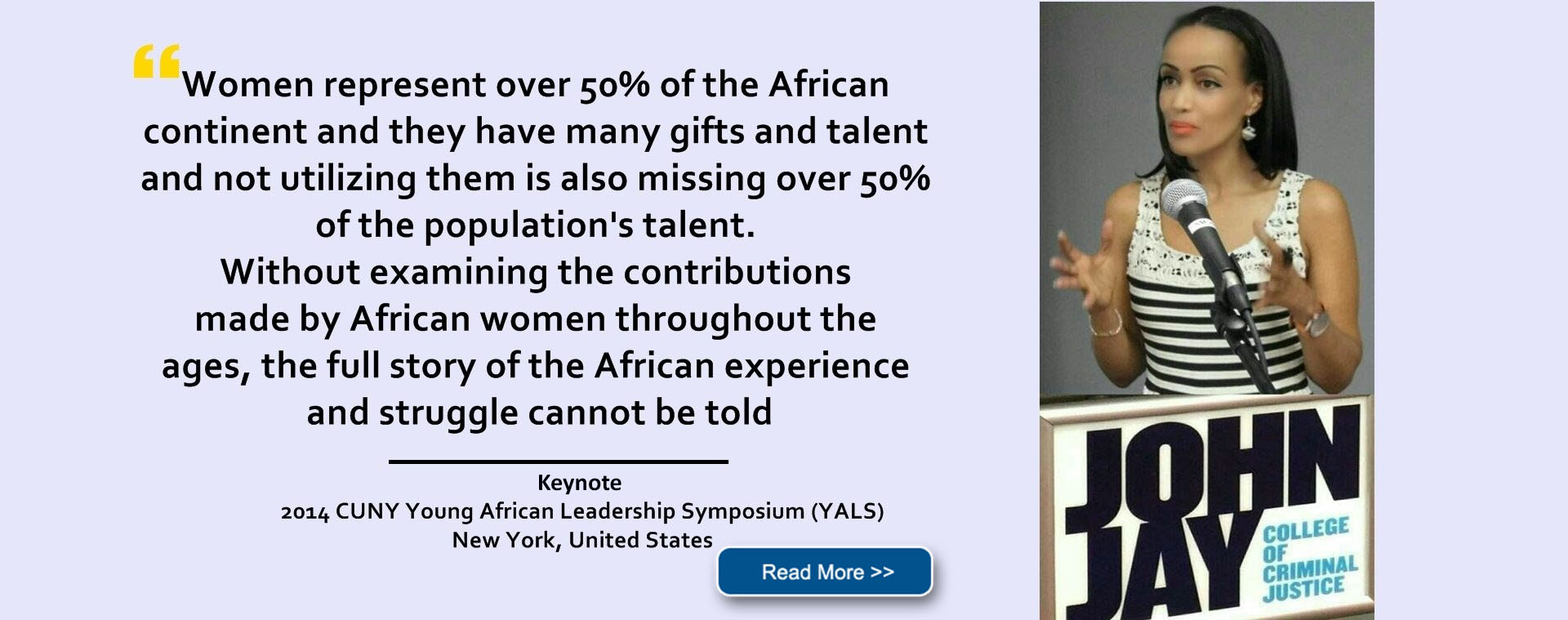 CUNY Young African Leadership Symposium (YALS) CUNY, New York, United States