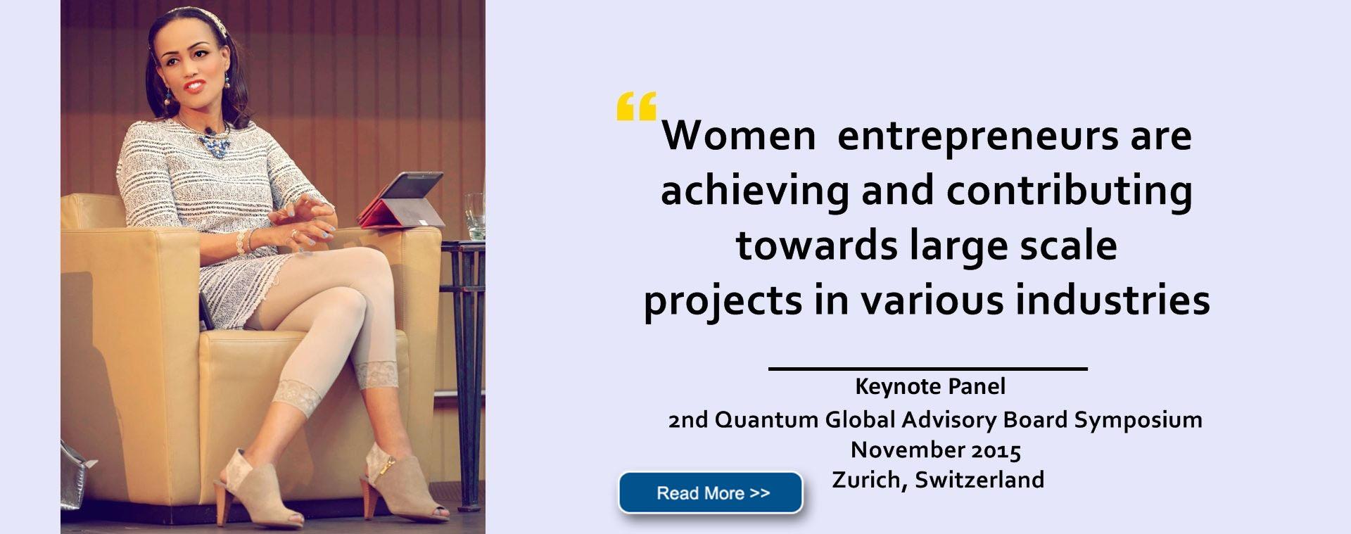 2nd Quantum Global Advisory Board Symposium, Zurich, Switzerland on 19th November 2015