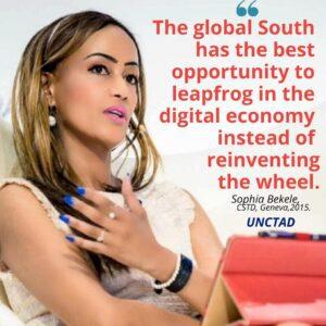 Sophia Bekele on digital economy