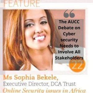 Sophia Bekele on cyber security