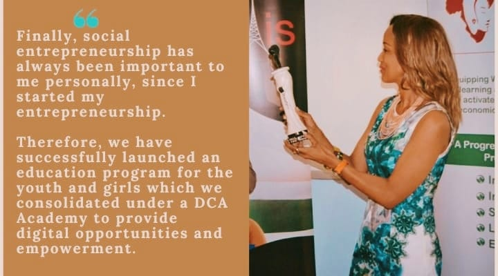 Sophia Bekele on personal social entrepreneurship
